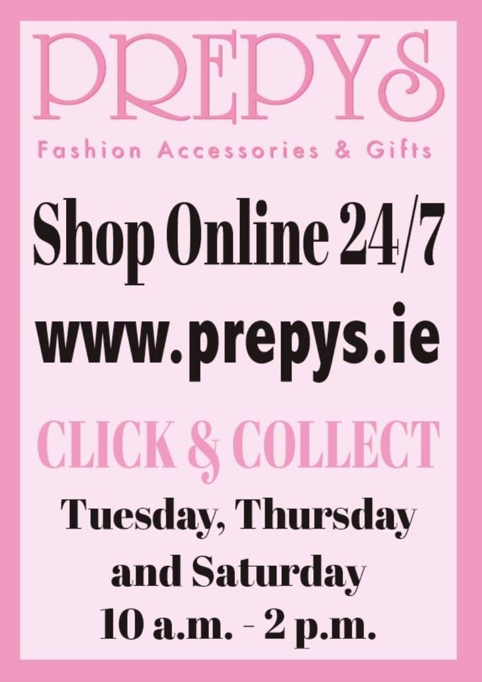 Click & Collect available at Prepys!