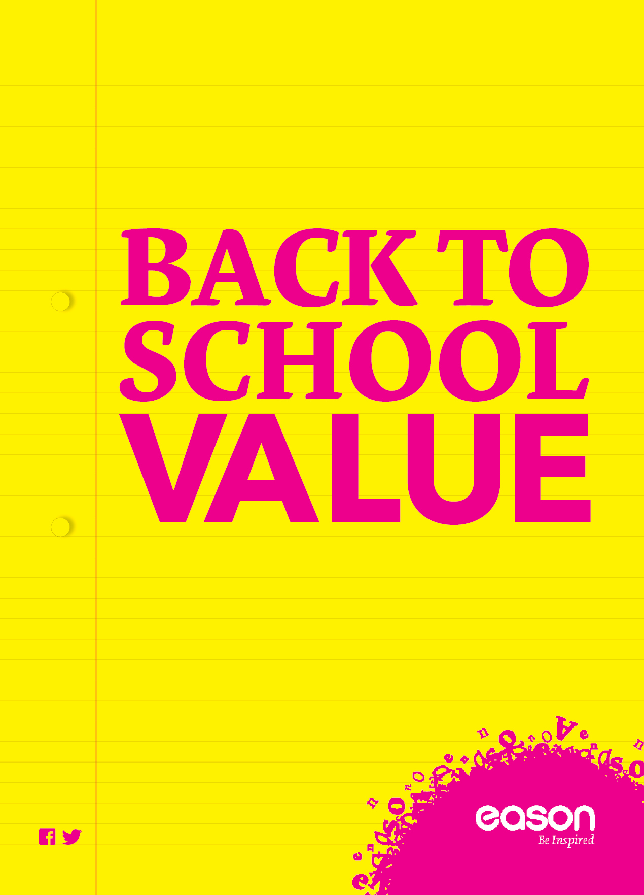 WIN WIN WIN €50 worth of back to school products compliments of Easons!