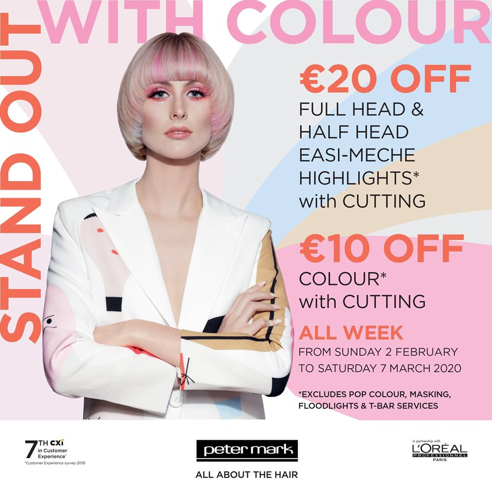 Colour Offer at Peter Mark!