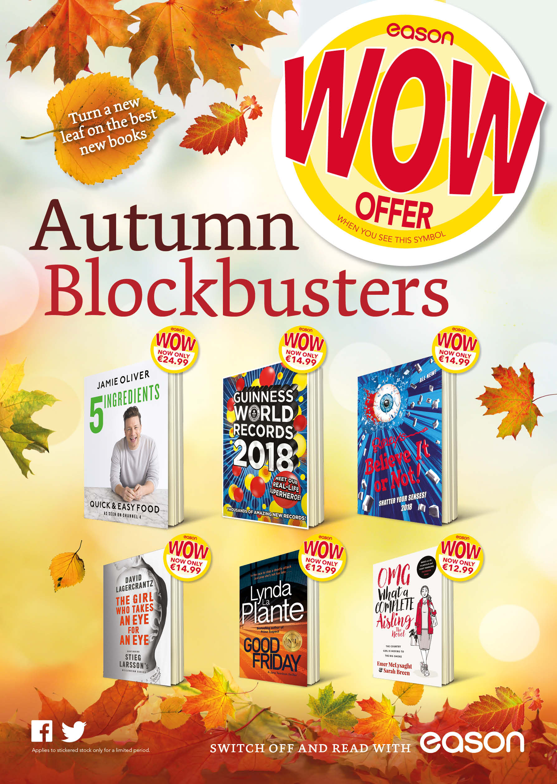 Autumn promotion at Easons!