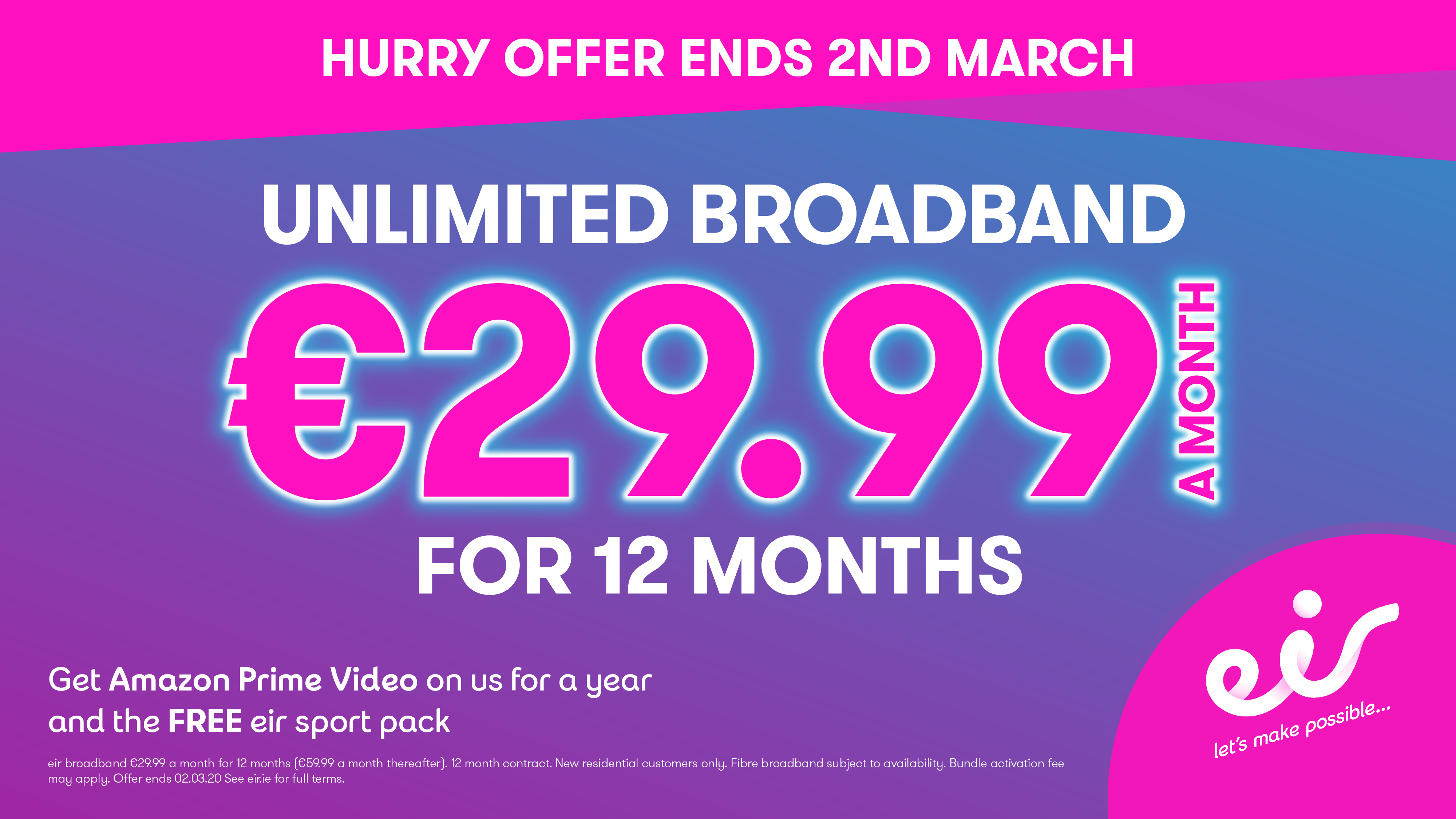 Current Offers at Eir!