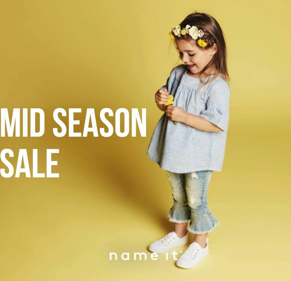 Mid season sale continues in store at Name It