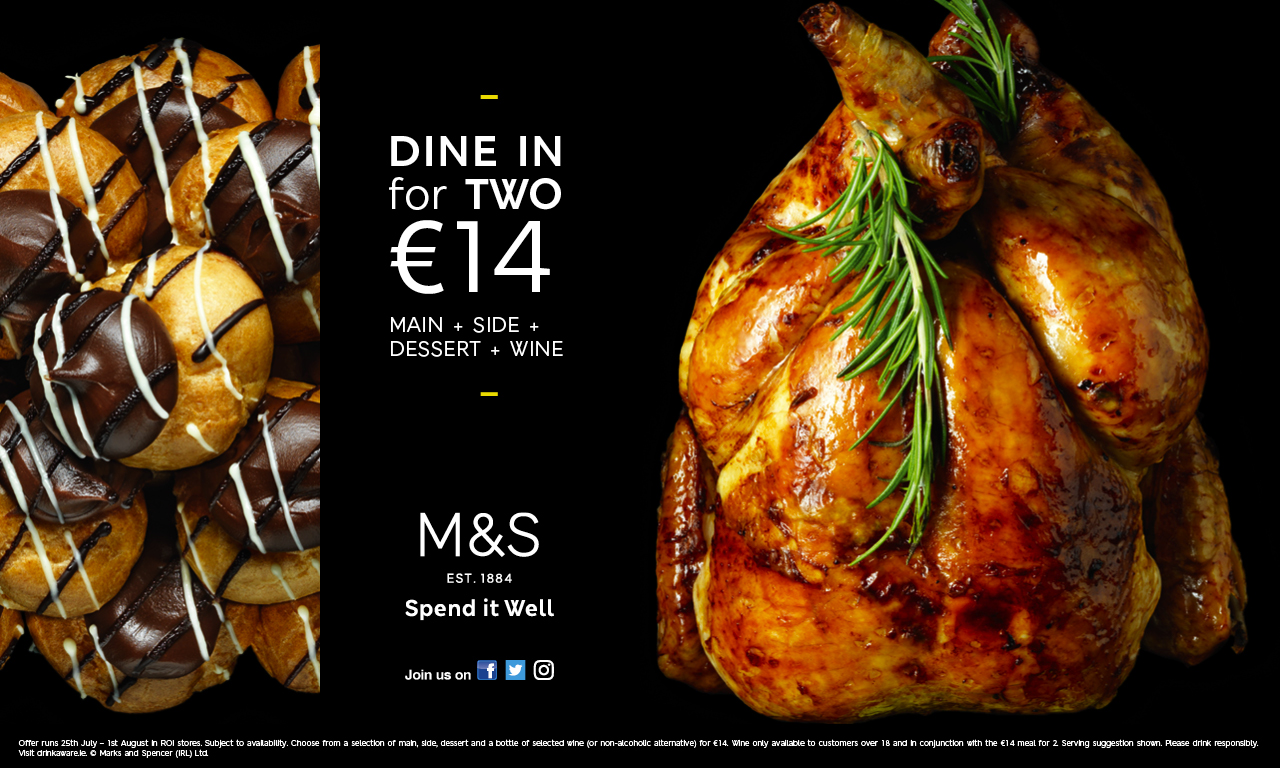 Dine in @ M&S