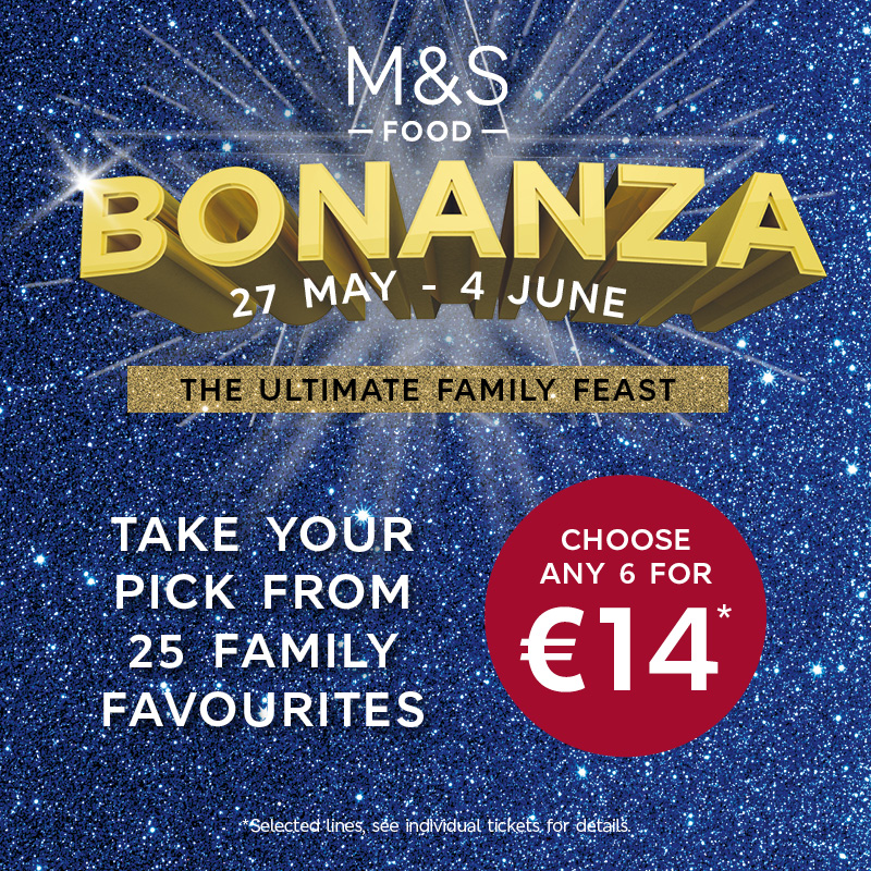 M&S Bonanza Ultimate Family Feast Meal Deal!