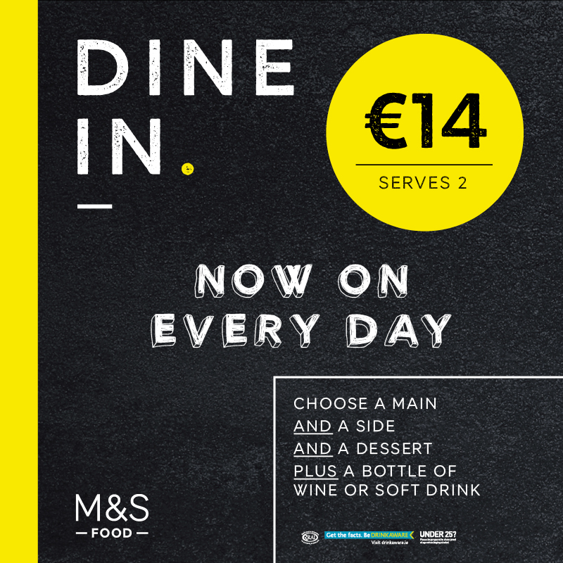 The Marks and Spencer Dine in Deal is back!