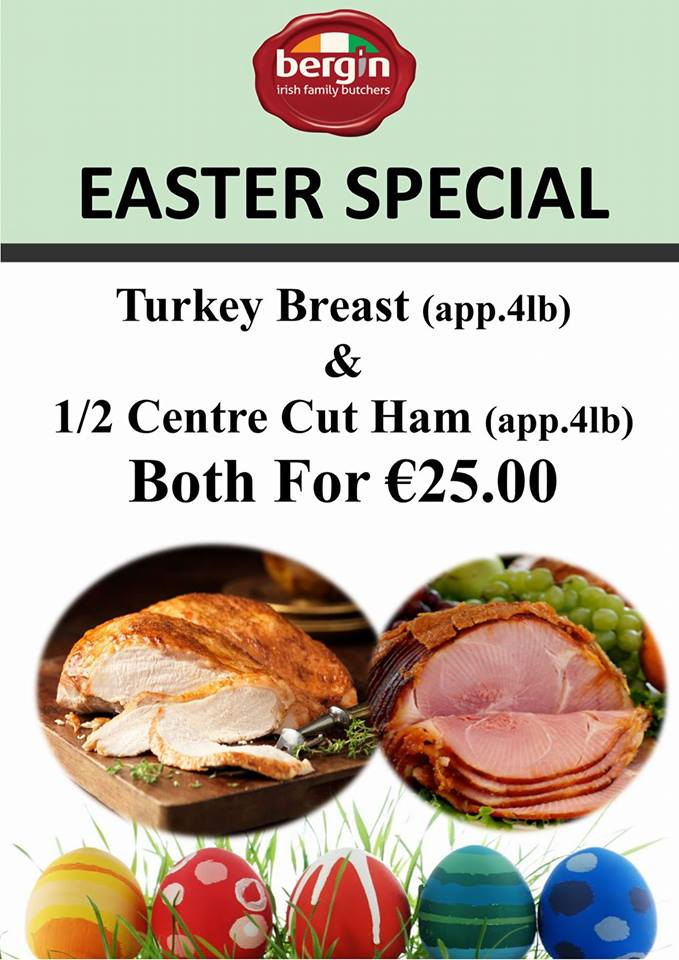 Bergin Family Butchers Easter Special!