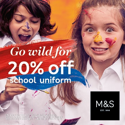 M&S Back to School Offer
