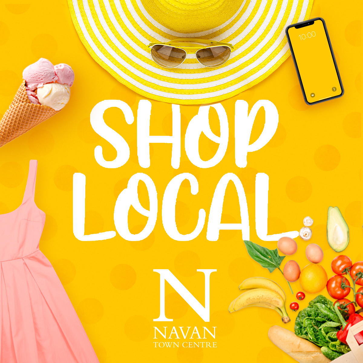 Shop Local at Navan Town Centre!