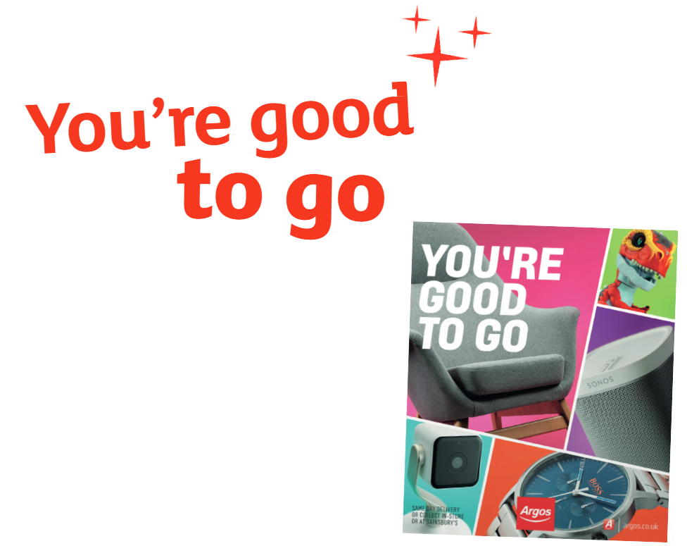 To celebrate the New Argos Catalogue they have a 6-day gift voucher promotion for their customers