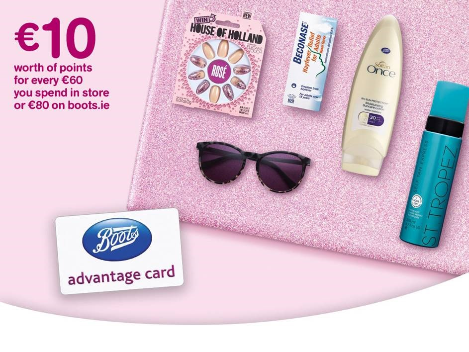 Points event @ Boots