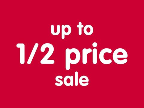 Boots up to 1/2 price sale!!
