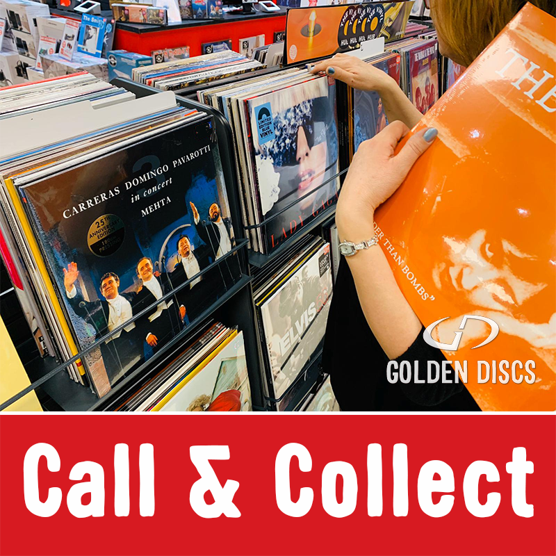 Call & Collect Service available at Golden Discs!