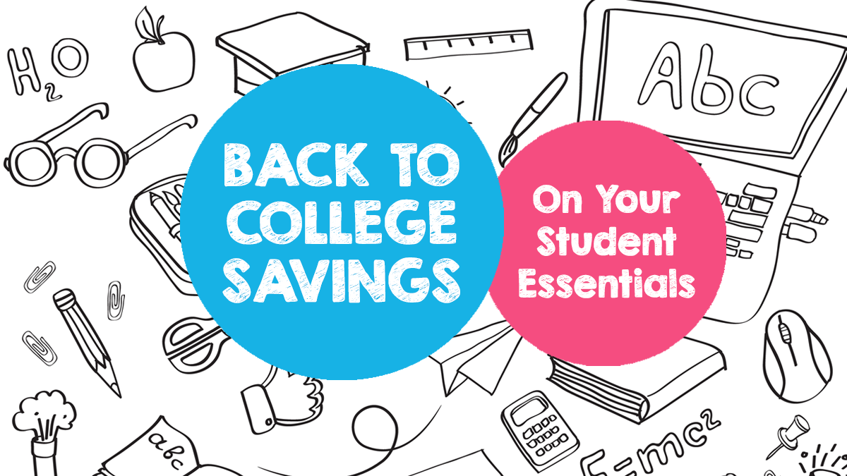 Checklist of Back to College Essentials from Choice!