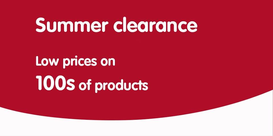*SALE* Discover low prices on 100s of products in the Boots summer clearance, pop into Boots at Navan Town Centre!
