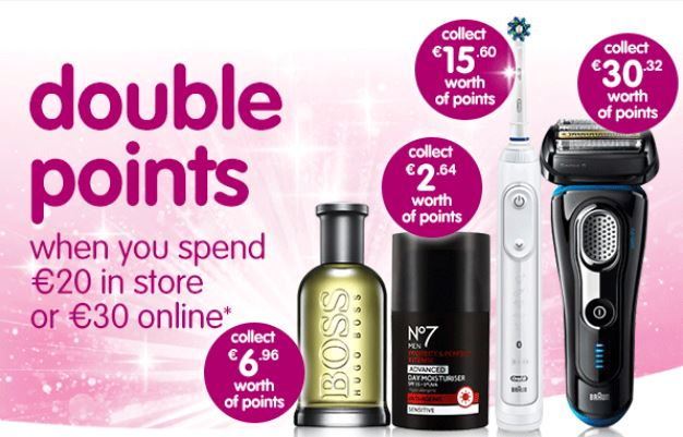 Its Double Points Weekend in Boots