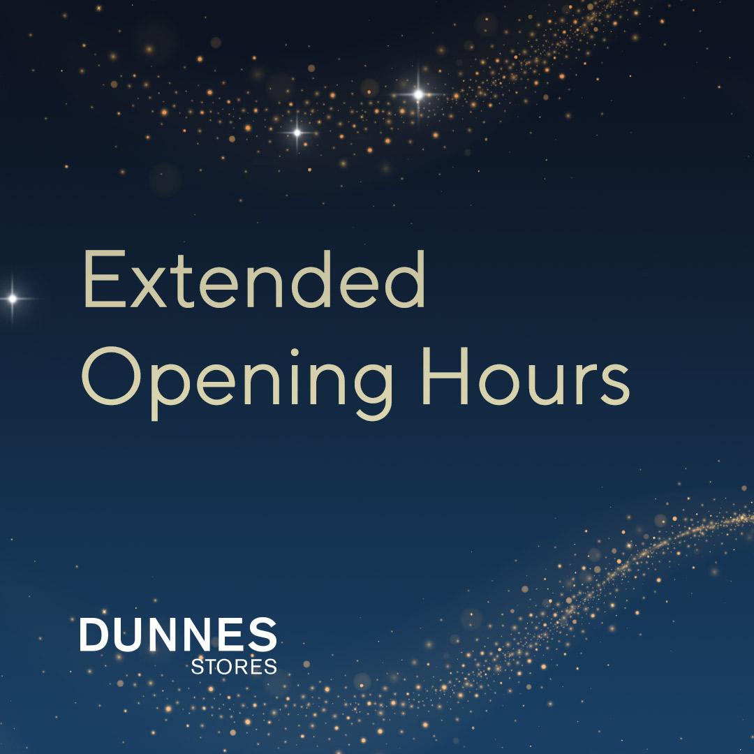 Dunnes Stores are making it easier to get to the most important bits of Christmas by extending their weekly opening hours in Navan Town Centre.