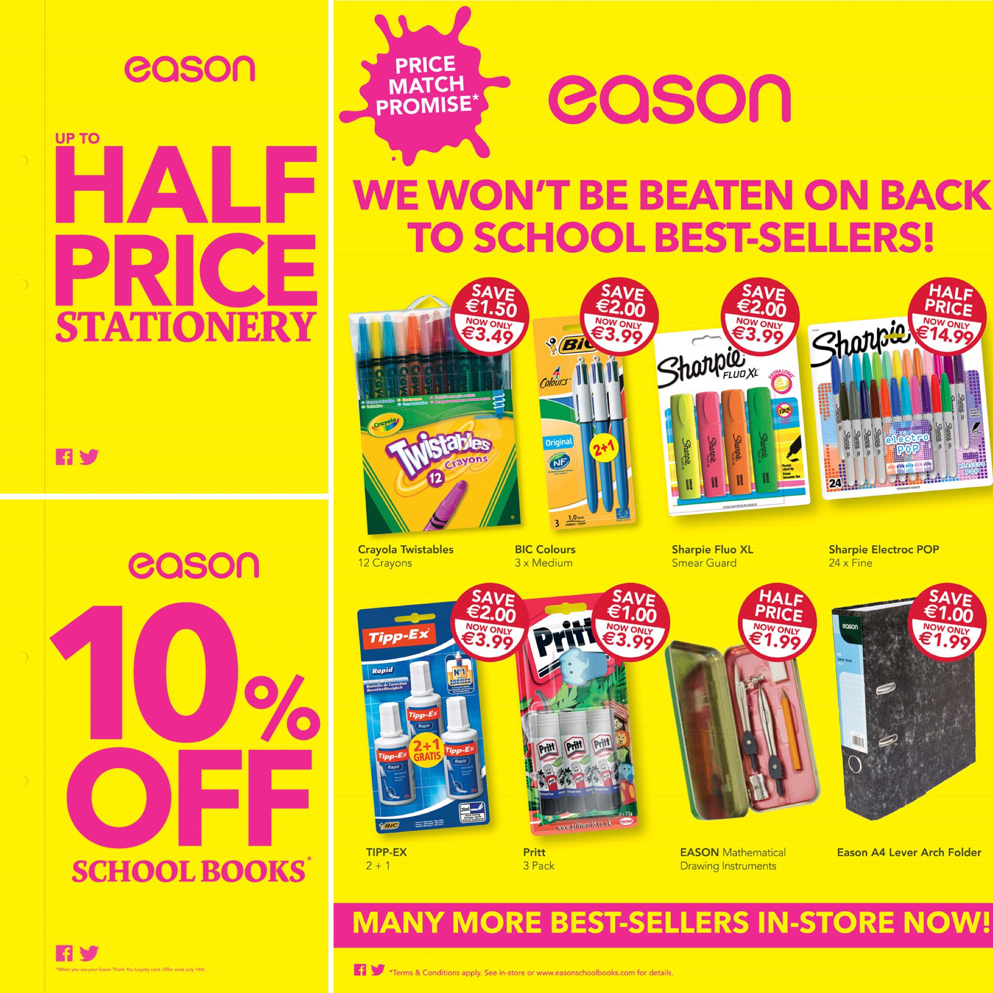 Back to School at Easons