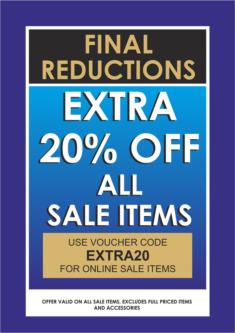 EXTRA 20% off Sale priced items in our winter sale, Pamela Scott