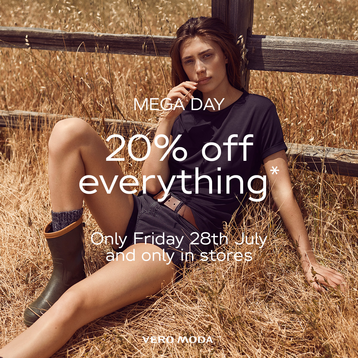 VERO MODA MEGA DAY - 20% OFF TOMORROW 27TH JULY!