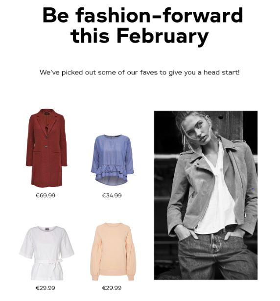 February Fashion at Vero Moda