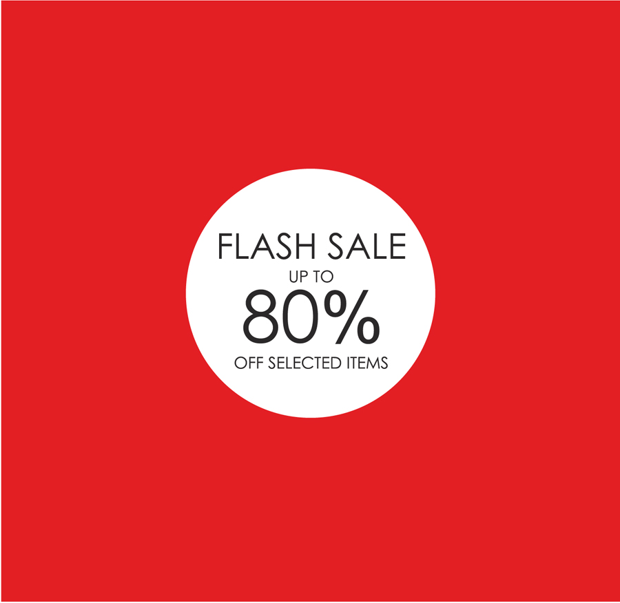 Pamela Scott FLASH SALE @Pamela Scott starts Today 17th May with up 80% OFF selected styles in all stores