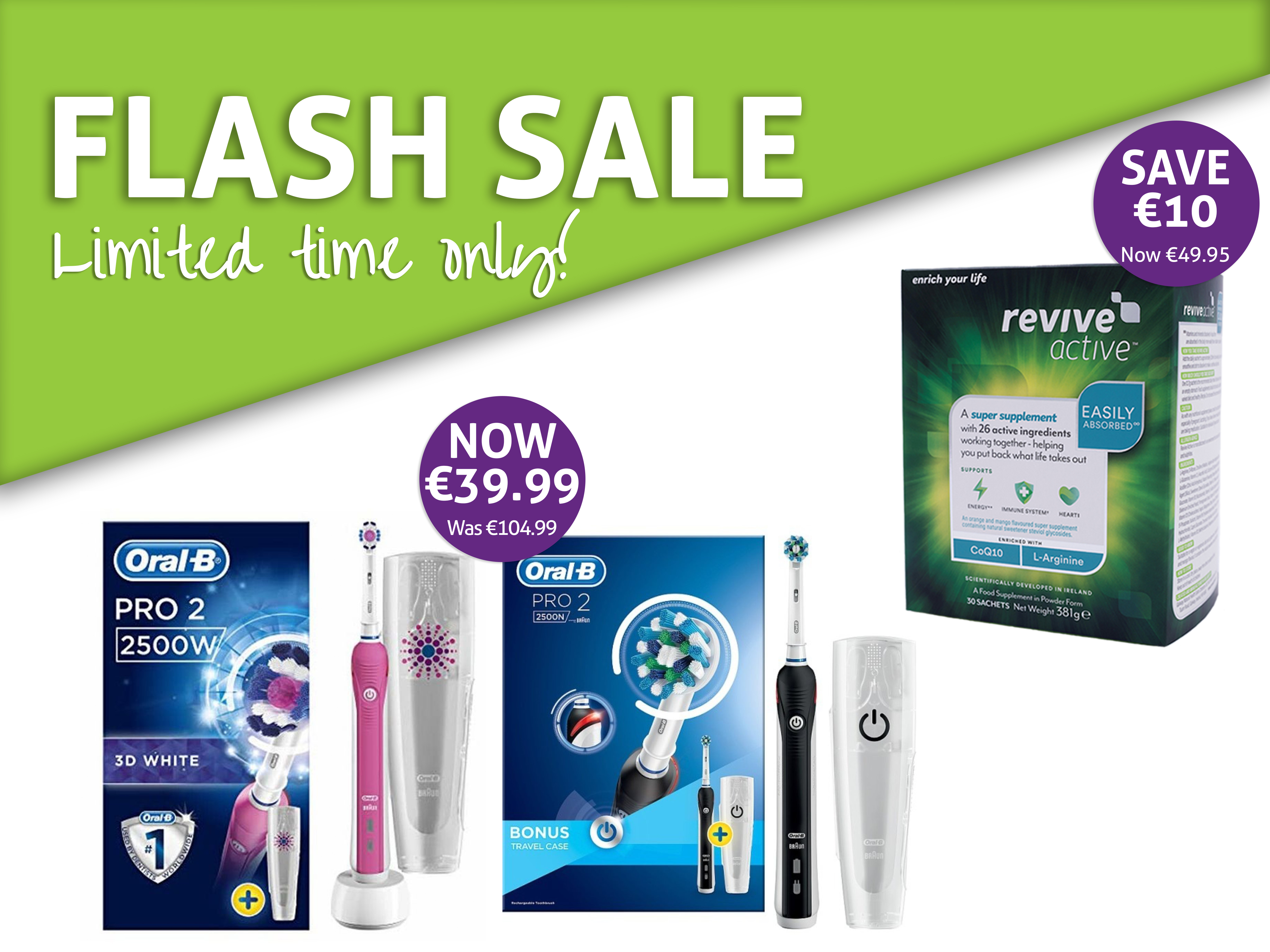 Flash Sale at Hickey's Pharmacy