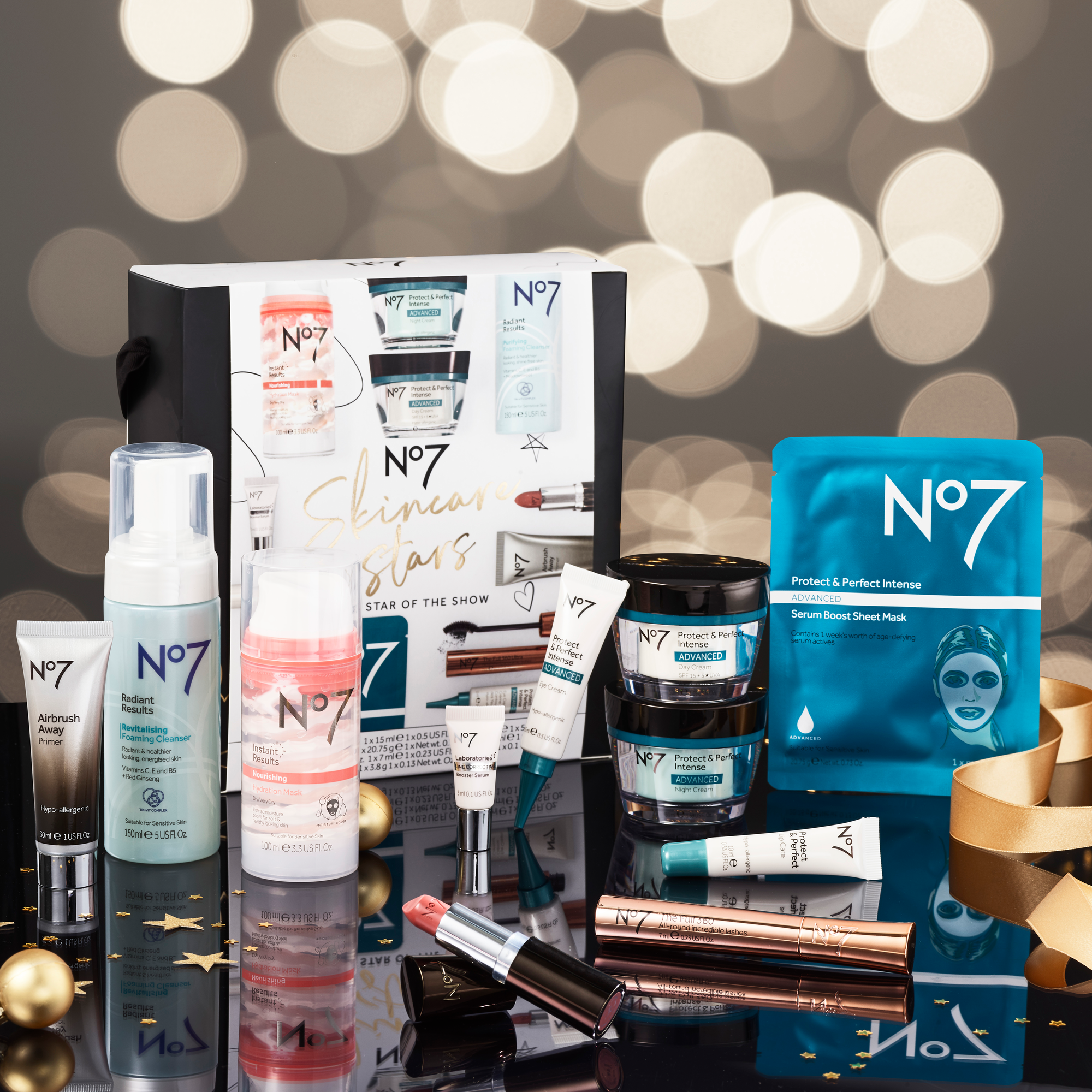 This Christmas make yourself The Star of the Show with No7's skincare must-haves from Boots!
