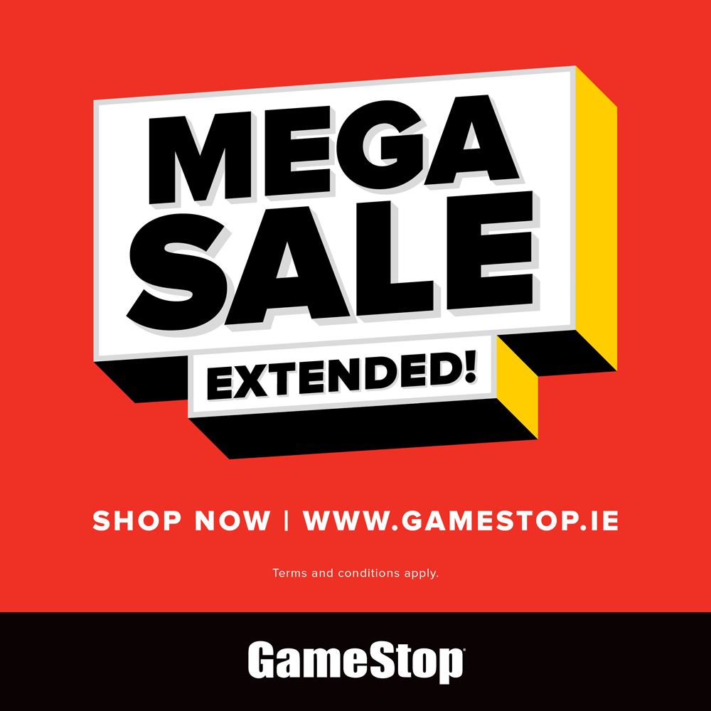 Lockdown Mega Sale Extended @ GameStop.ie