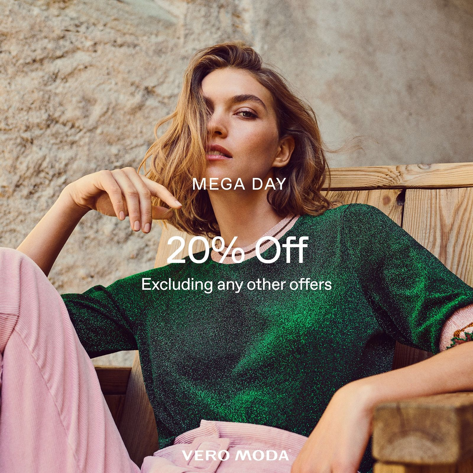 MEGA DAY kicks off today with 20% OFF in store at Vero Moda