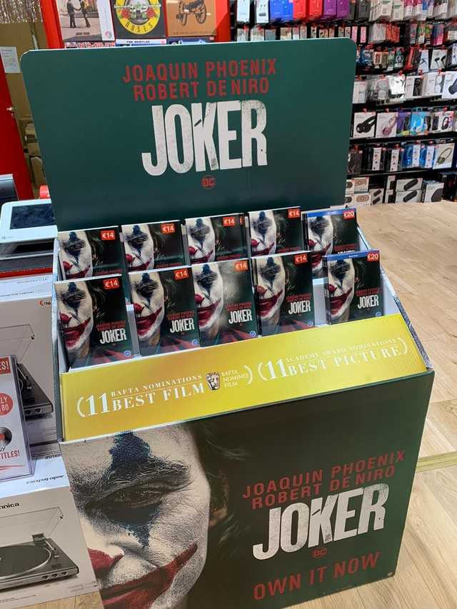 Joker, Now Available at Golden Discs on DVD and Blu-Ray!
