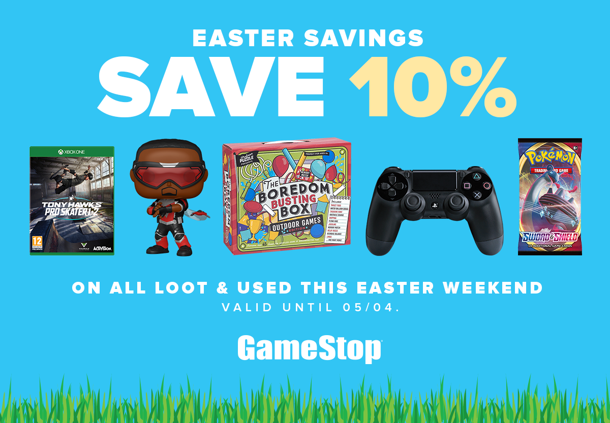 At Gamestop this Easter weekend only