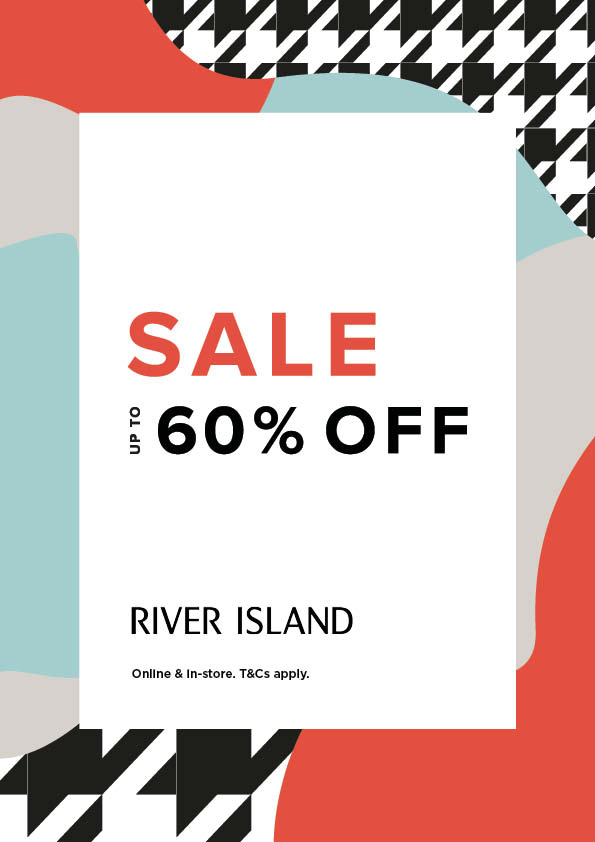 Mid-Season sale is now on at River Island