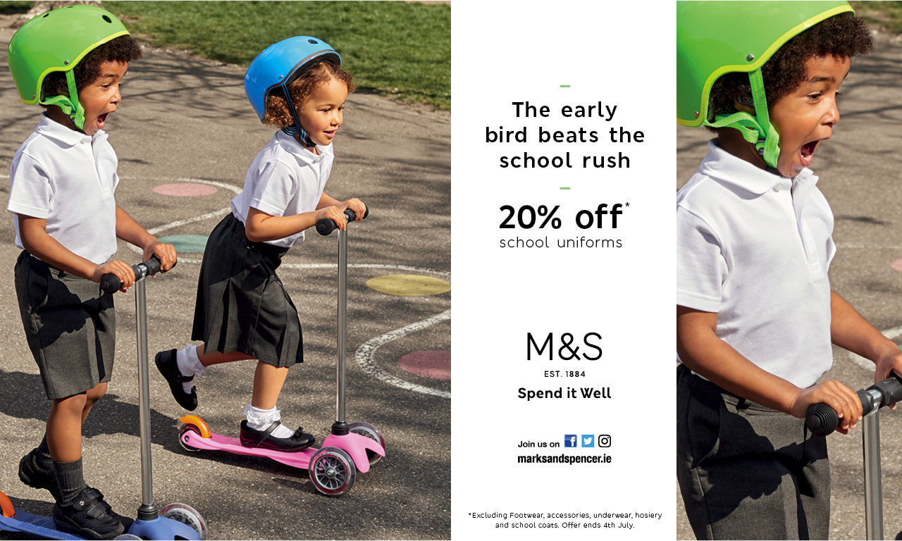 Back to School Deal @ M&S
