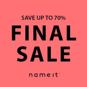 FINAL SALE AT NAME IT (from Friday 1st July)