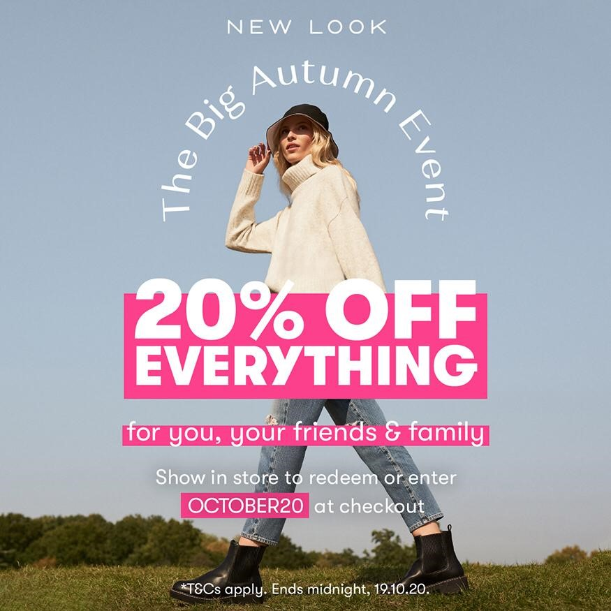 The big Autumn event at New Look!