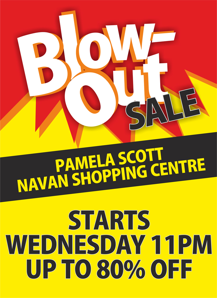 Pamela Scott Blow Out Sale