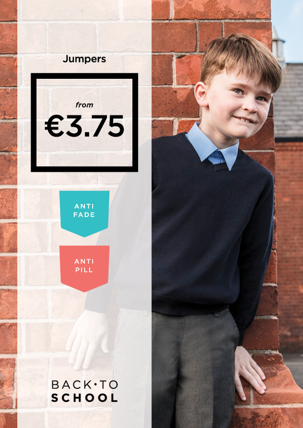 Time to stock up on School Uniforms from Dunnes Stores!