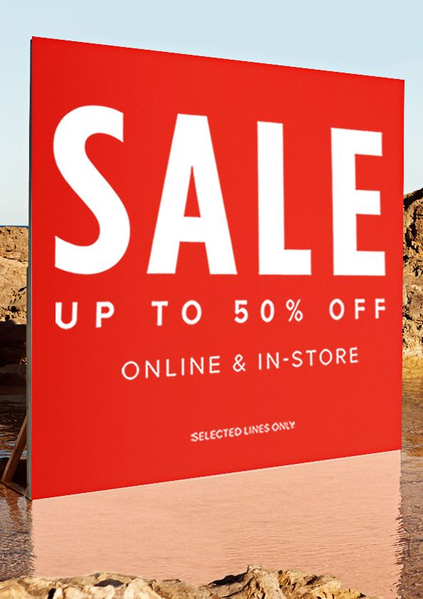 SALE NOW ON AT RIVER ISLAND!!