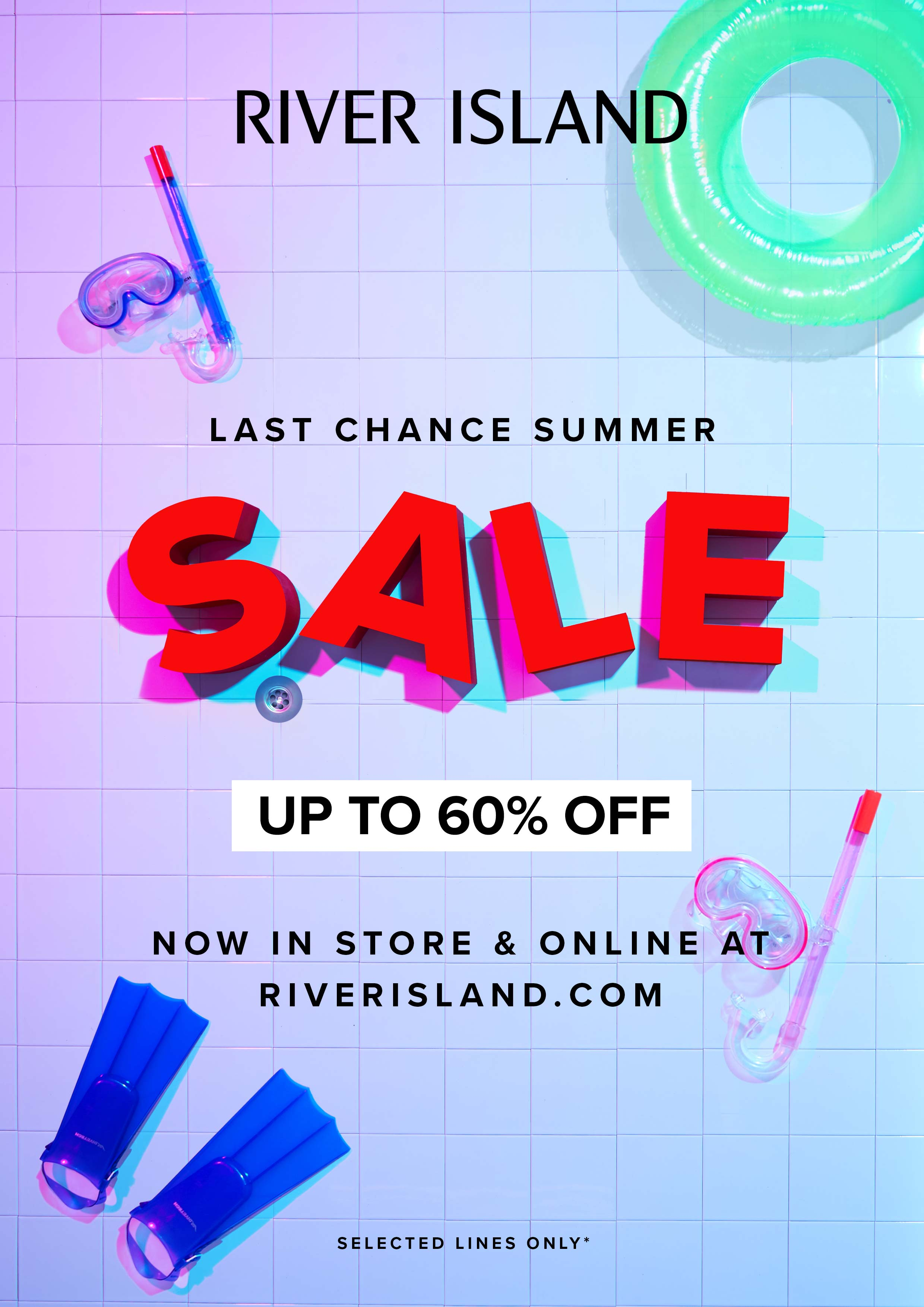 Up to 60% OFF in River Island