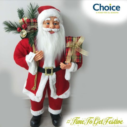 Get Your Own Santa at Choice - A Home For All Seasons