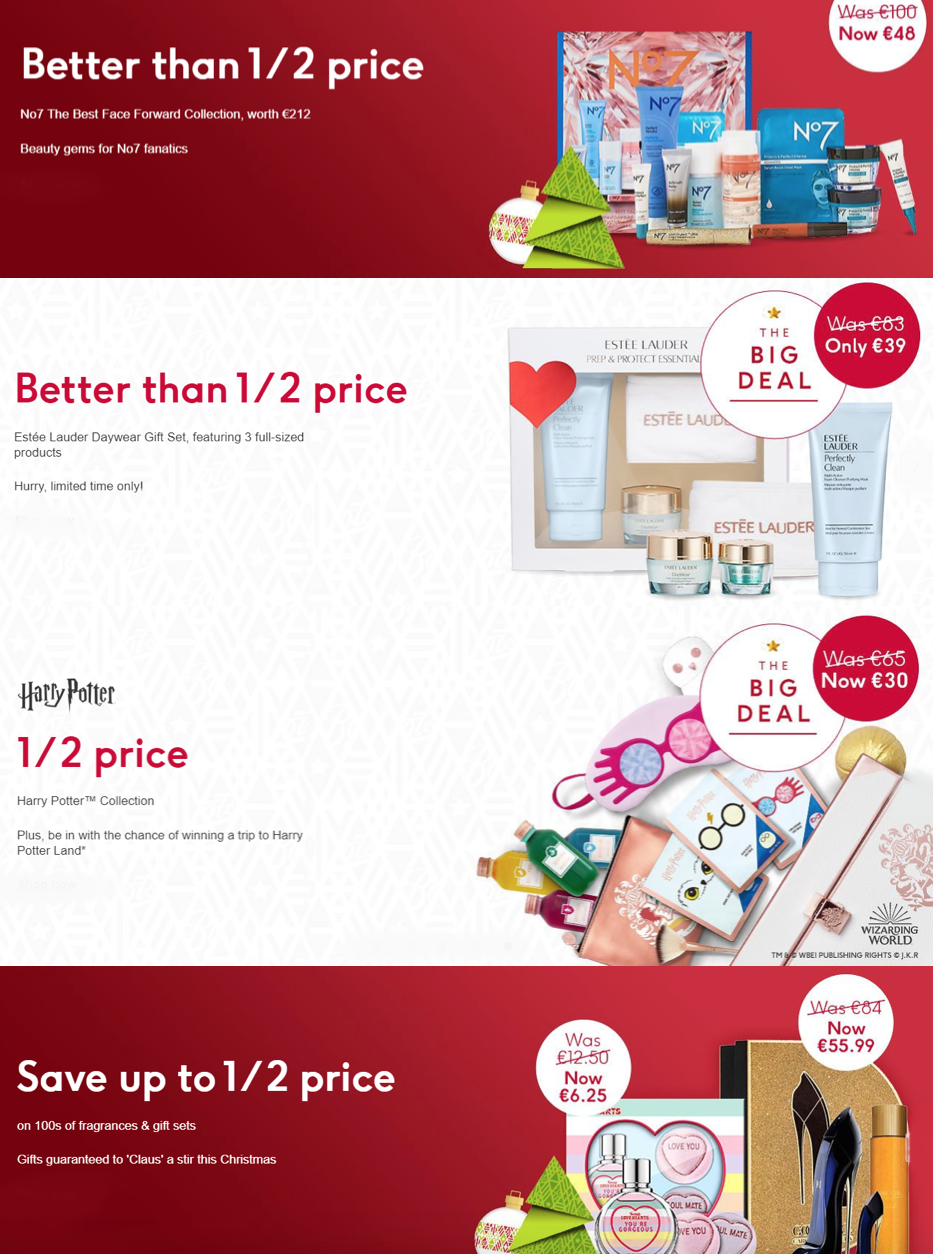 Current Beauty Offers at Boots!