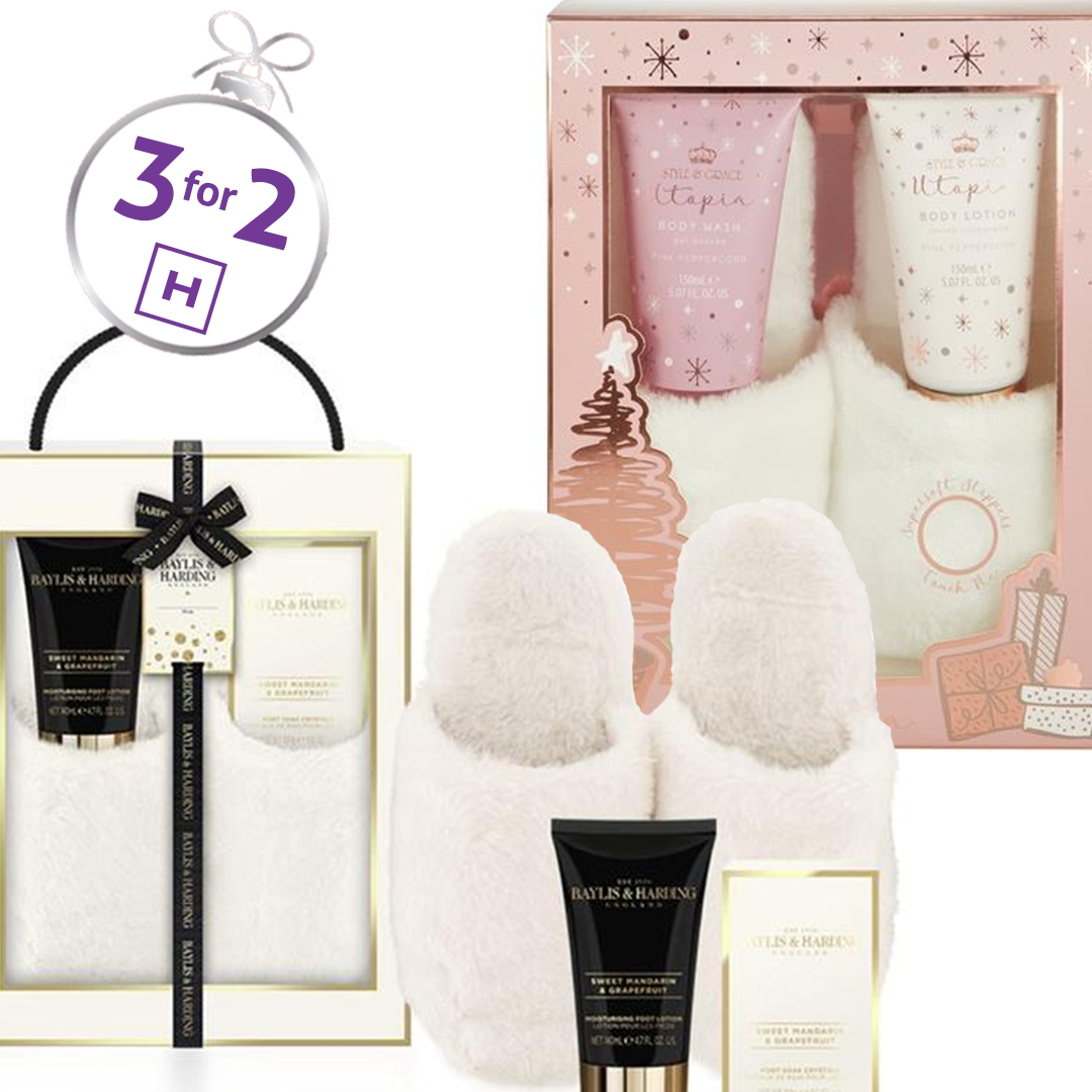 3 for 2 on Christmas Gift Sets at Hickey's Pharmacy!