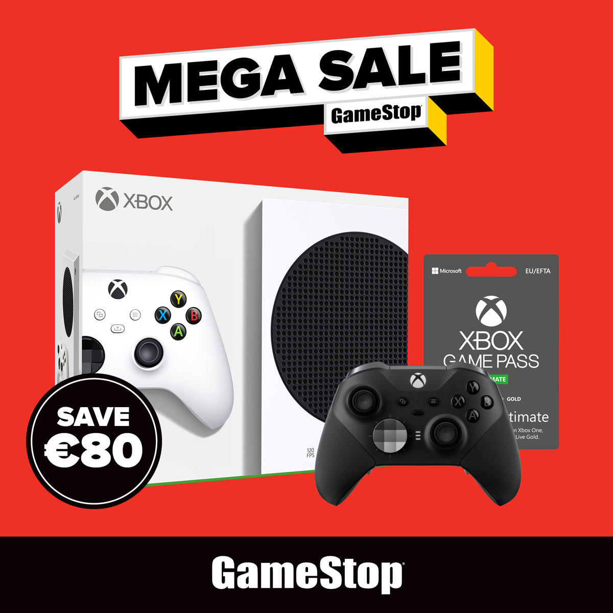 Mega Sale event at Gamestop Online