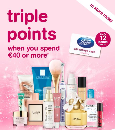 Its Triple Points weekend in Boots!!