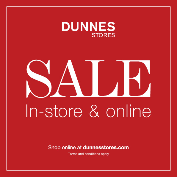 SALE NOW ON at Dunnes Stores!